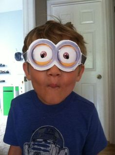 Here's a happy little Minion #JustAddGoggles