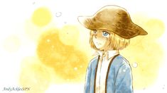 This is so cute but so sad all the same... Poor armin. Sometimes  we forget how sad a childhood he had...
