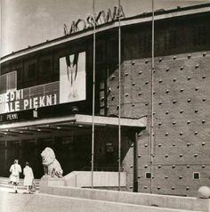 Kina w przestrzeni miasta.  Kino Moskwa w Warszawie 1950-1996