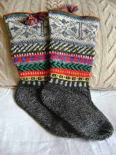 "Ravelry: tarelkaz's Socks ""Simple drawings"""