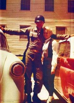 Elvis and Anita Wood by marilyn