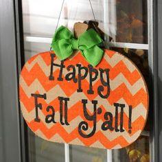 Happy Fall Y'all Wall Plaque #kirklands #kirklandsharvest