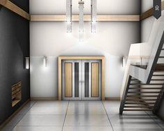 3D lobby by creativemilk.fr