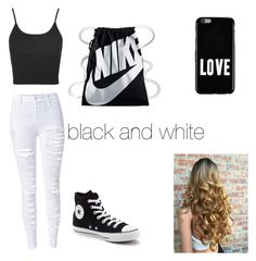 """Untitled #198"" by timcaaa on Polyvore featuring Topshop, Converse, NIKE and Givenchy"