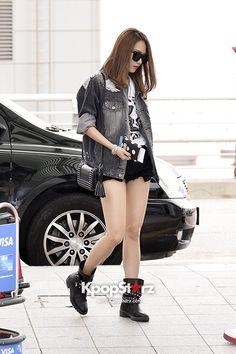 Miss A Fei airport fashion