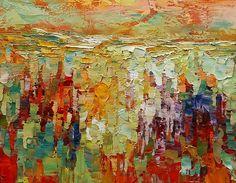 Abstract Painting, Heavy Texture Art, Impasto Painting, Original Wall Art, Large Art, Canvas Art, Modern Art, Oil Painting, 349