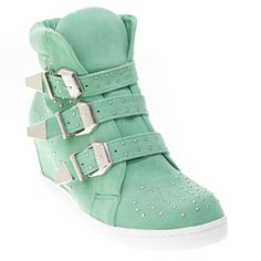 Forever Womens COLIMA15 Round Toe Hidden Wedge High Heel Fashion Sneaker Shoes, Mint Green Faux Suede, 6.5 B (M) US V-Luxury http://www.amazon.com/dp/B00JY5VPV0/ref=cm_sw_r_pi_dp_8ZMhub1AB695X