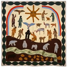 Inuit wallhanging