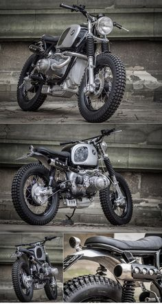 Down Out BMW Scrambler :: via The Bike Shed