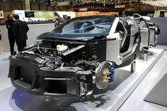 Bugatti Grand Sport Cutaway