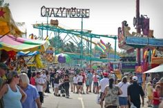 kentucky state fair in 2013 was huge.  Great people in KY land