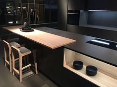 Contemporary kitchen from Dica inspired by Japanese minimalism