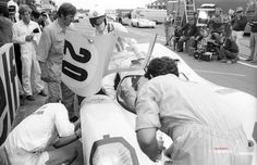 The Circuit de la Sarthe functioned as both racing paddock and film set whilst 'Le Mans' was being made. See more from behind the scenes in France by signing up to our mailing list: http://www.themanlemans.com/mailing-list.html #TheManLeMans #SteveMcQueen #McQueen #Porsche