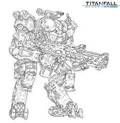 ArtStation - Titanfall fan art / vehicle, Woo Kim