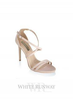 b3a582851409 Gardenia Heels. Women s heel by Billini in man made leather. Featuring a  delicate cross. Bridal ShoesWedding ...