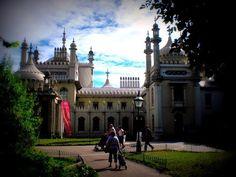 Brighton: Der indisch-chinesische Palast von Georg IV. Die Story im Reiseblog www.anderswohin.de dazu unter http://www.anderswohin.de/2012/09/brighton-der-indisch-chinesische-palast.html