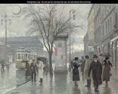Vesterbrogade 2 - Paul-Gustave Fischer. Order as handmade oil painting