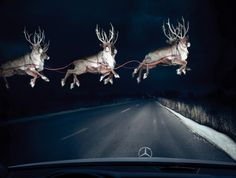 Reindeer in Headlights - Mercedes-Benz Ad by BBDO Canada