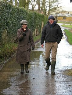 Countryfile has an exclusive interview with the Princess Royal at her home, Gatcombe Park. British Garden, Bbc One, Barbour, Celebrity Style, Interview, Winter Jackets, Cottage, Country, Winter Coats