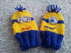 Baby rukavicky  Minions