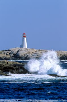*Peggys Cove Lighthouse - Nova Scotia, Canada
