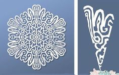 Virtual Snowflake Creator - Cut 7 Online Snowflake Creator - any shape you can dream up. Paper Folding Crafts, Cool Paper Crafts, Diy Arts And Crafts, Crafts To Make, Christmas Crafts, Paper Snowflake Template, Paper Snowflakes, Snowflake Pattern, Christmas Snowflakes