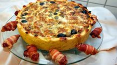 Saborosa Quiche de Bacalhau