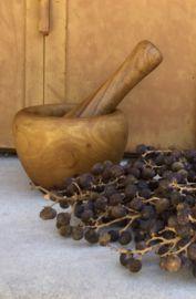 Vijzel en stamper olijvenhout klein model | Laatste aankopen (nog niet gerubriceerd) | Provence Brocante Mortar And Pestle, Provence, Model, Scale Model, Models, Template, Aix En Provence, Pattern