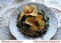 Шедевры кулинарии: Салат Орхидея - вкусная нежность