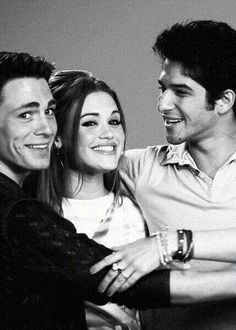 Colton Haynes, Holland Roden & Tyler Posey ♥