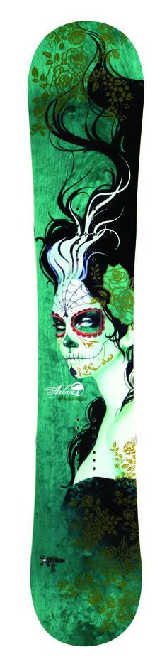 ":::man I love this board::: Arbor Snowboard- Sylvia Ji ""Cadence"""