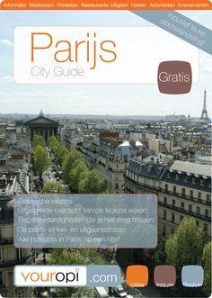 Gratis Ready to Go City Guide Parijs van Youropi.com. Ontdek de beste restaurants, leukste winkels, leuke activiteiten en evenementen met deze gratis stadsgids!