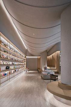 » SYMBIOTIC ISLAND Design Agency, Branding Design, Nendo Design, Public Hotel, Qingdao, Ceiling Windows, Ceiling Design, One Design, Retail Design