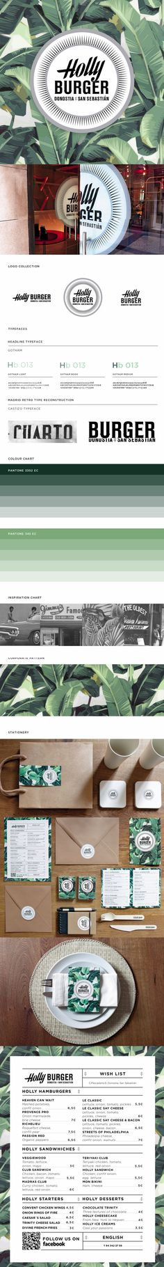 Holly Burger | #stationary #corporate #design #corporatedesign #identity #branding #marketing < repinned by www.BlickeDeeler.de | Take a look at www.LogoGestaltung-Hamburg.de