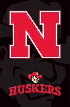 husker football pictures and posters | University of Nebraska Huskers Herbie Official NCAA Logo Poster ...