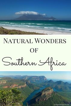 Top 7 Natural Wonders of Southern Africa - Table Mountain in Cape Town and Blyde River Canyon, and more