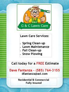 Lawn Care Contract -- Combo Estimate & Contract Form | Lawn care ...