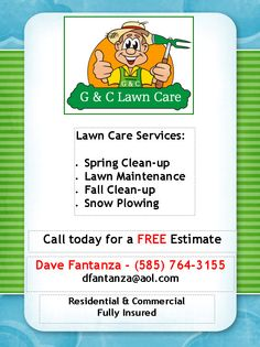 Lawn Mowing Service Flyer | My Flyer made it myself ...