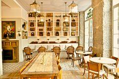 EL PERRO Y LA GALLETA c/Claudio Coello, 1 (m: Retiro) desayunos, comidas, meriendas y cenas, también brunch. Segundo local del Bar Galleta