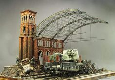 Germans and the train station