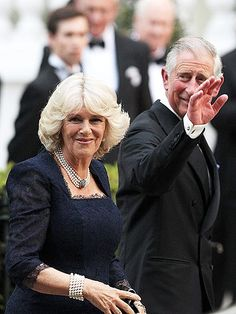 PRINCE CHARLES & CAMILLA, DUCHESS OF CORNWALL....With Princes William and Harry home at Clarence House, the Prince of Wales and his wife step out for the Queen's dinner Thursday at the Mandarin Oriental Hotel in Hyde Park, London. Upon their arrival, Charles and Camilla were greeted by cheers from the crowd waiting outside. Thursday Apr 28, 2011