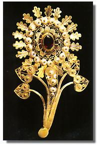 Sardinian filigree jewelry