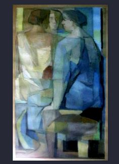 by Luis Dourdil Mark Rothko, Blue Artwork, Cubism, Types Of Art, African Art, My Eyes, Past, Colours, Creative