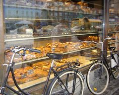 Copenhagen~Danish pastry Shop