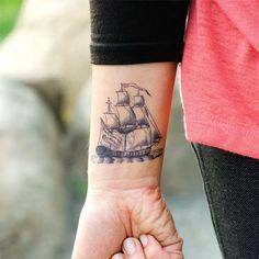 Boat Wrist Tattoo - 40 Boat Tattoo Designs  <3 !