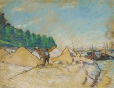 Armand Guillaumin - The Quay of the Siene at Paris, 1882 | Flickr
