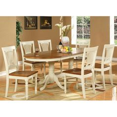 Wooden Importers Plainville 7 Piece Dining Set Good price