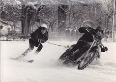 Next sport to join Winter Olympics? Husqvarna 400 iceracing in the 70s.