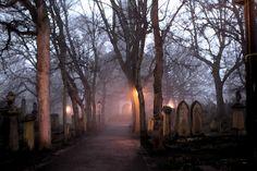 eerie Scottish cemetery ... photo by Mchan Gumatay via Flickr