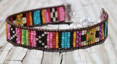 Brillante y colorido Tribal esque Boho nativa estilo por Belukro